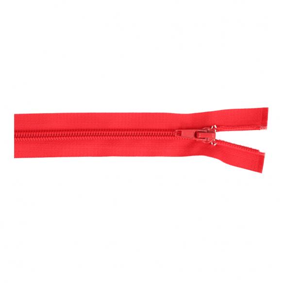 Reissverschluss teilbar Nylon rot, 25cm