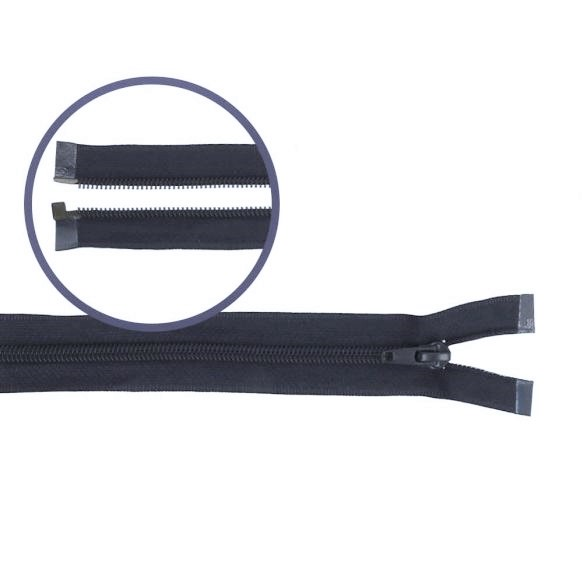 Reissverschluss teilbar Nylon navy 50cm