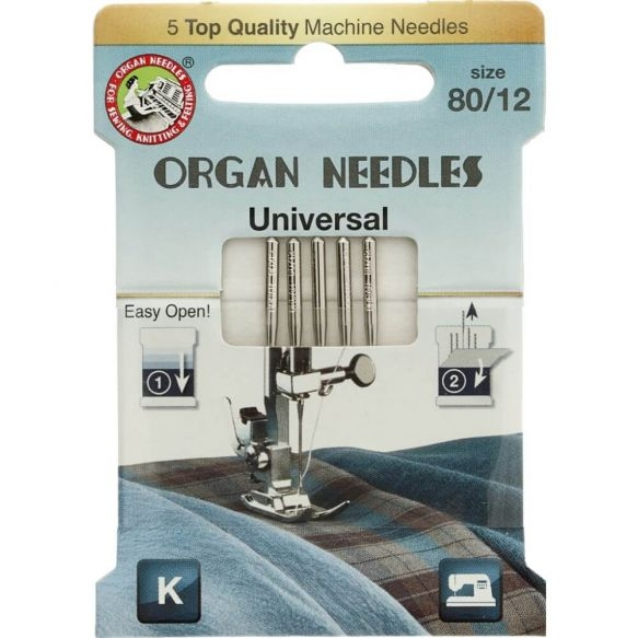 Organ Needles Universal Nähmaschinennadeln 80/12