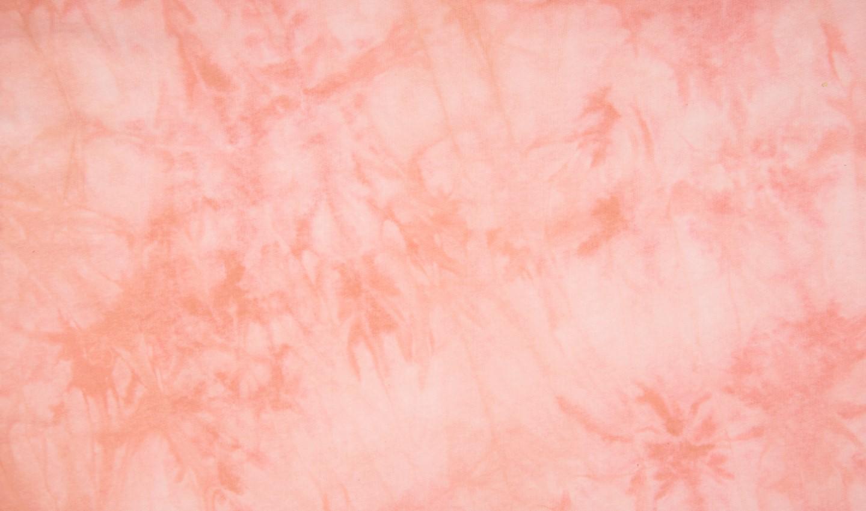 Sommersweat angeraut Tie & Dye - dusty rose