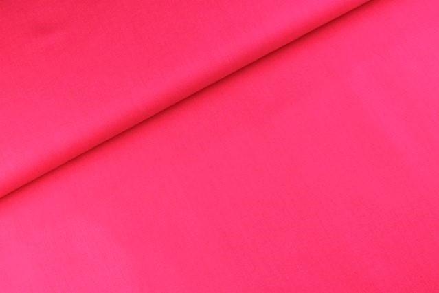 Baumwolle uni dunkel pink