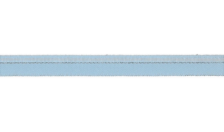 Paspelband elastisch uni baby blue 10mm