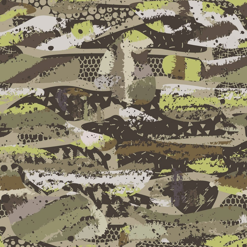 Sweat Organic Cotton Camouflage army/grün - Digitaldruck