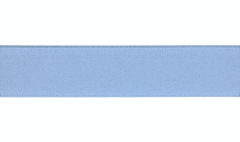 Gummiband 40mm uni baby blue (500)