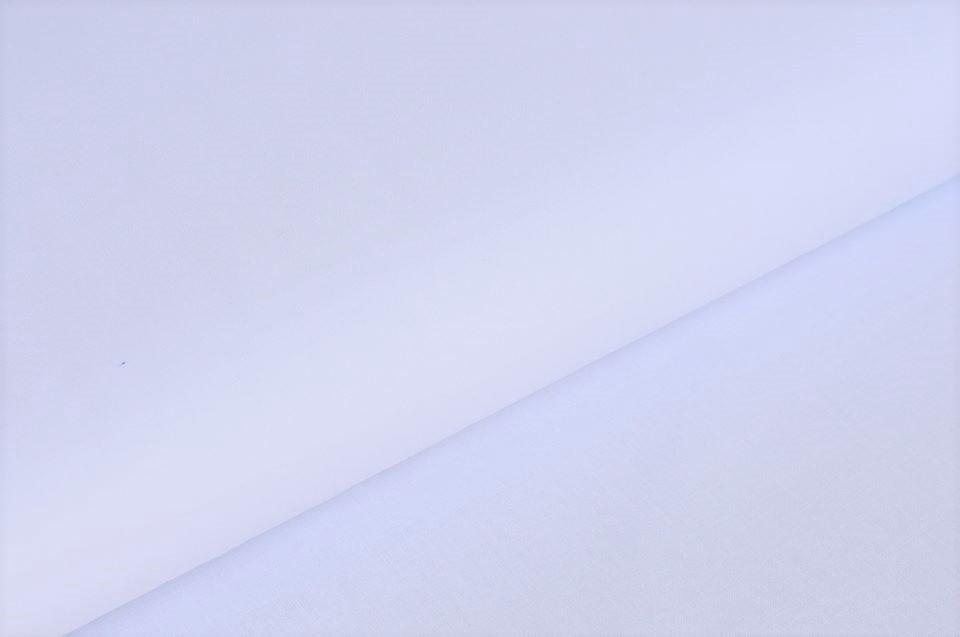 Nessel Baumwolle uni weiß