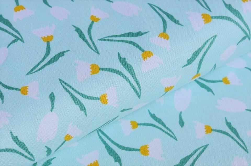 """Canvas mint """"Iris`s Garden"""""""