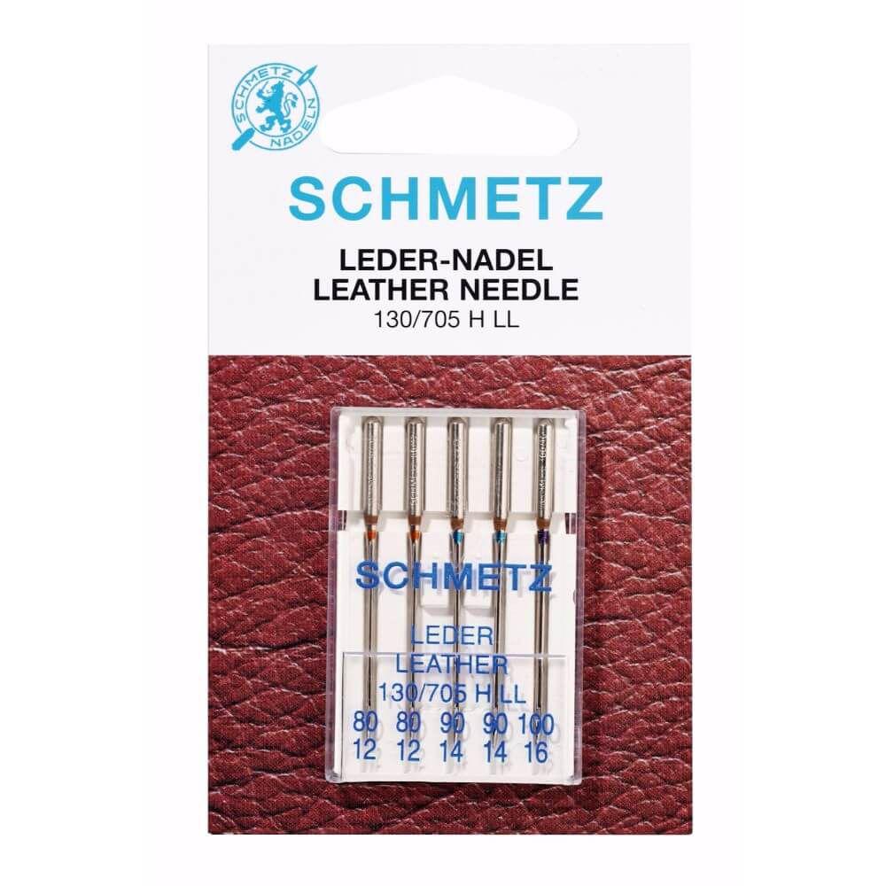 Schmetz Leder Nähmaschinennadeln 80-100