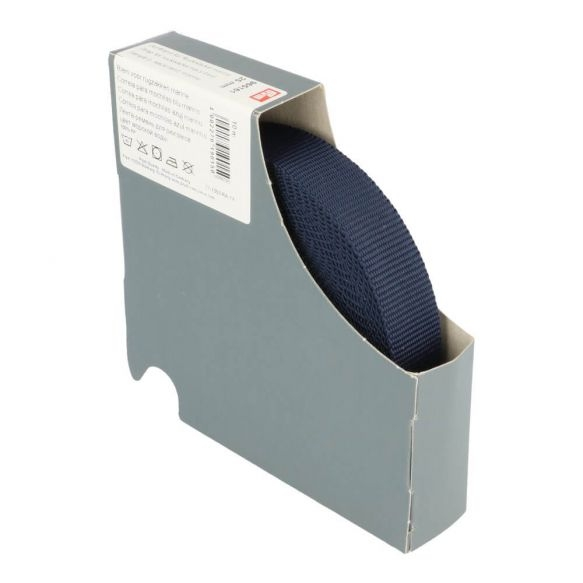 Prym Gurtband für Rucksäcke 25mm uni marine