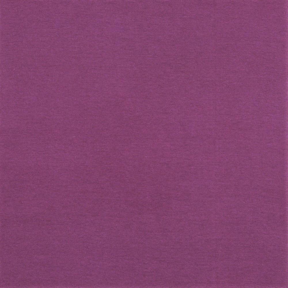 Organic Cotton Bündchenstoff uni brombeer (043)
