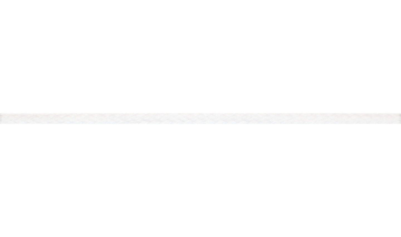 Kordel Baumwolle rund 6mm uni weiß