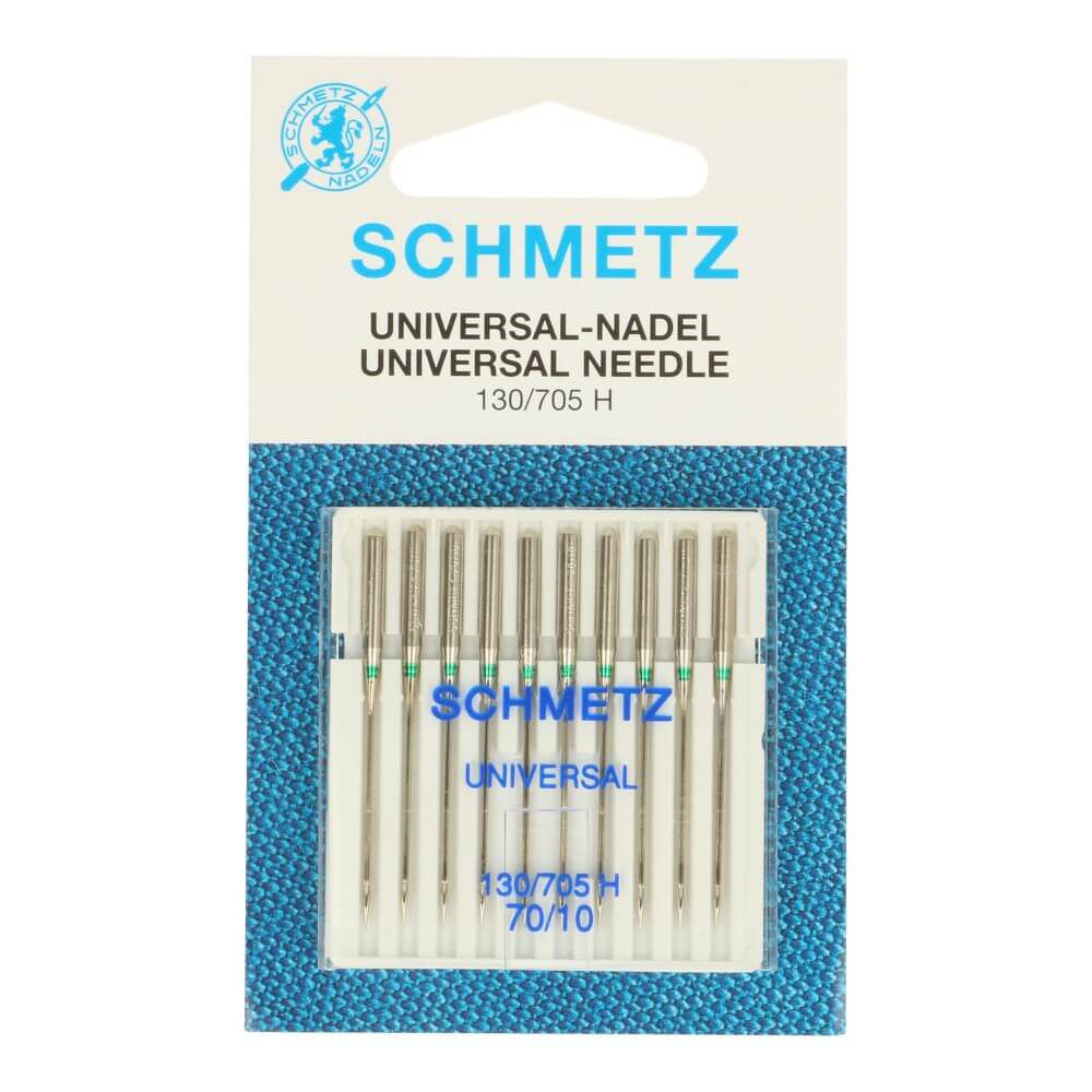 Schmetz 10 Universal Nähmaschinennadeln 70/10