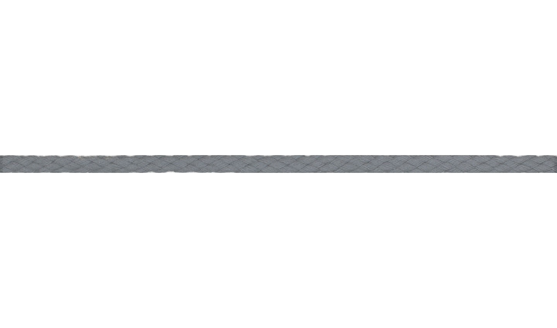 Kordel Baumwolle rund 6mm uni grau