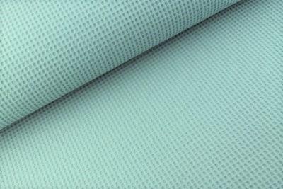 Waffelstoff uni dunkles altgrün