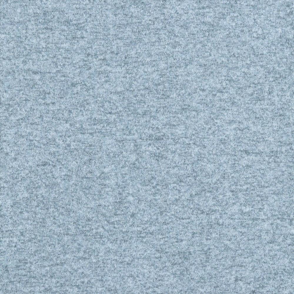 0,79m Reststück     Viskosestrick graublau melange