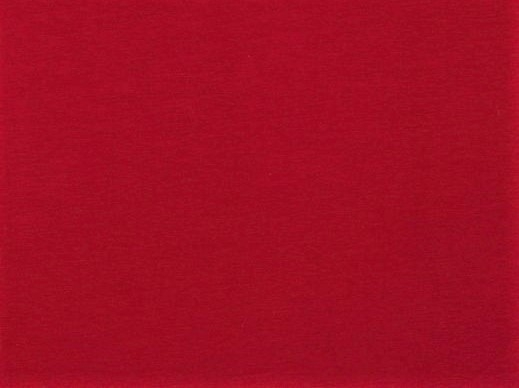Organic Cotton Baumwolljersey uni dunkelrot (009)