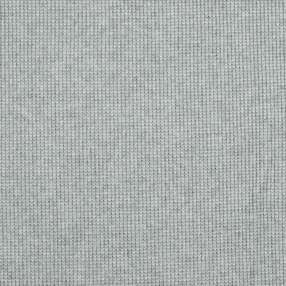 Viskosestrick mit silber Lurexfäden - grau