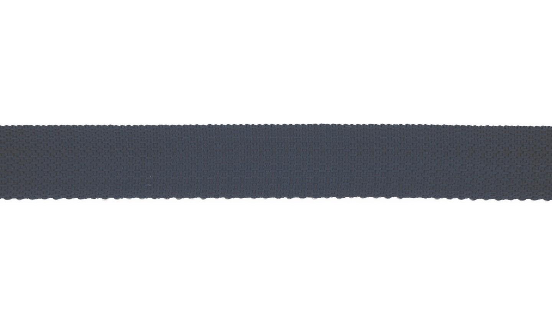 Gurtband Polyester 25mm uni marine
