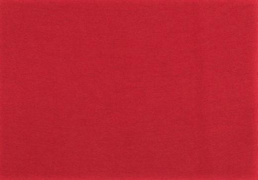 Organic Cotton Bündchenstoff uni dunkelrot (009)