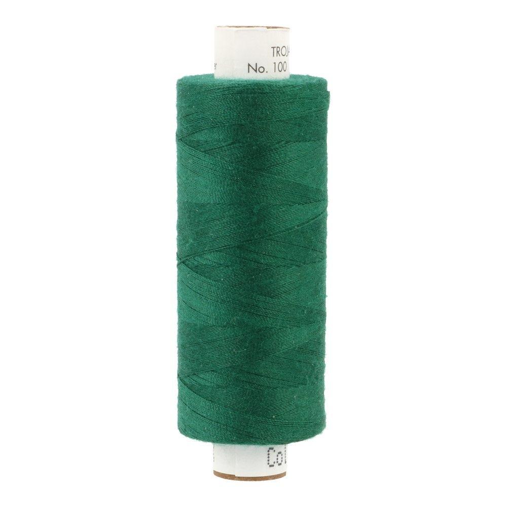 Amann Troja 100  Garn 500m - dunkelgrün (0757)