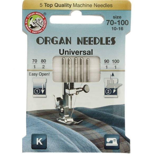 Organ Needles Universal Nähmaschinennadeln 70-100