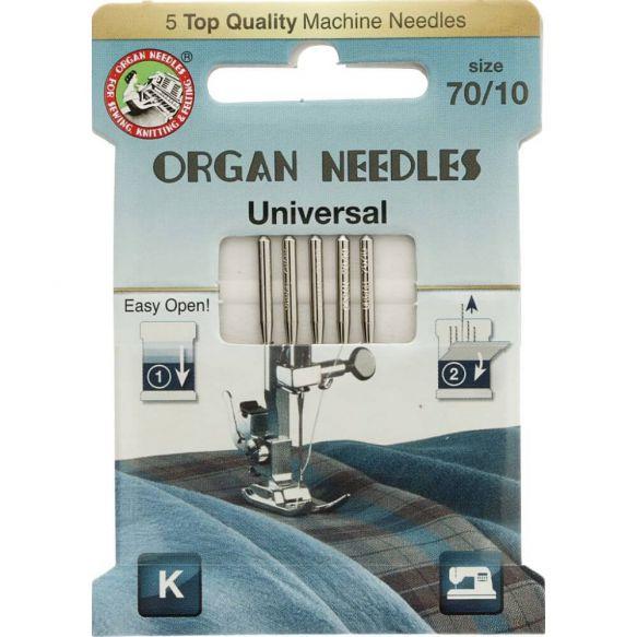 Organ Needles Universal Nähmaschinennadeln 70/10