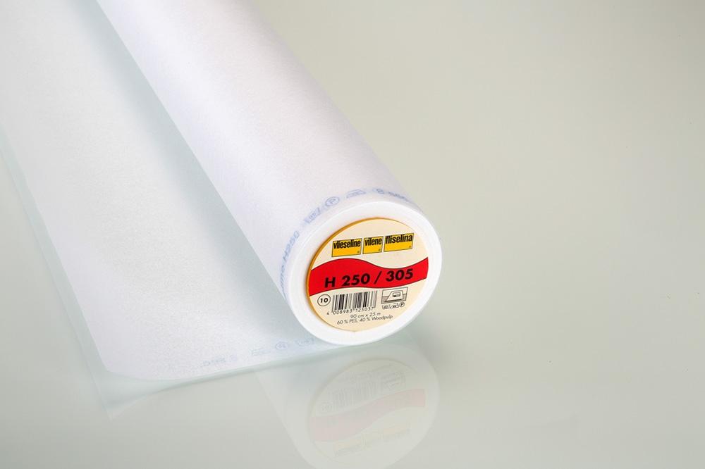 Vlieseline Bügeleinlage H250 weiß