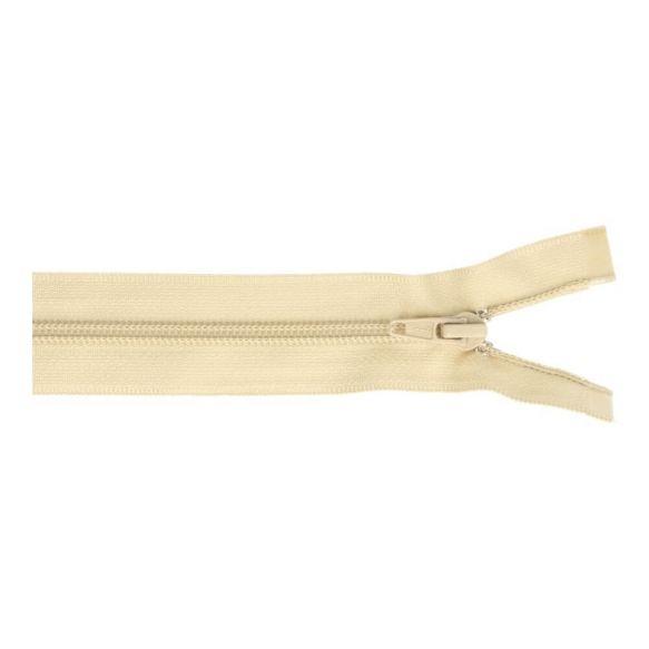 Reissverschluss teilbar Nylon beige 60cm (572)