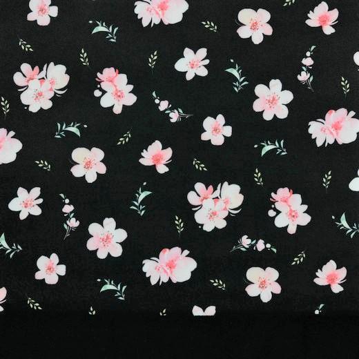 """Softshell Digital """"Cherry Blossom"""" - schwarz"""