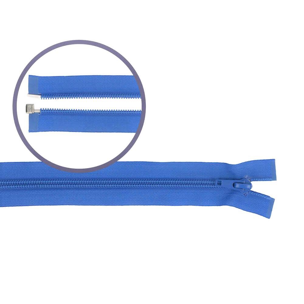 Reissverschluss teilbar Nylon kobalt 45cm