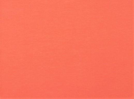 Organic Cotton Baumwolljersey uni aprikot (008)