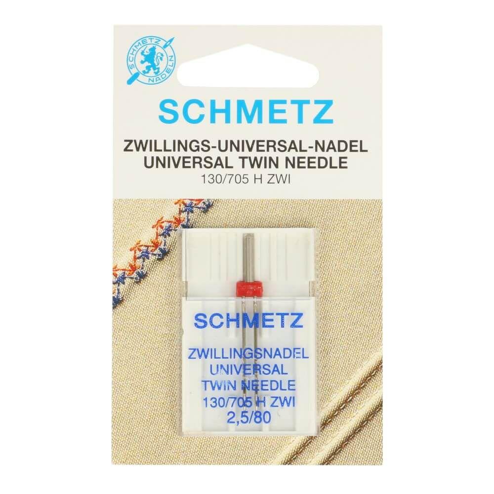 Schmetz Zwillingsnadel Universal 2,5/80