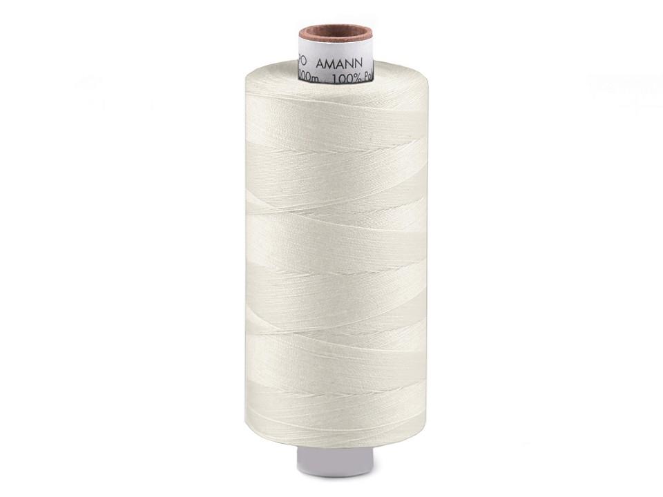 Amann Polyester Aspo Garn 1000m - ecru (1000)