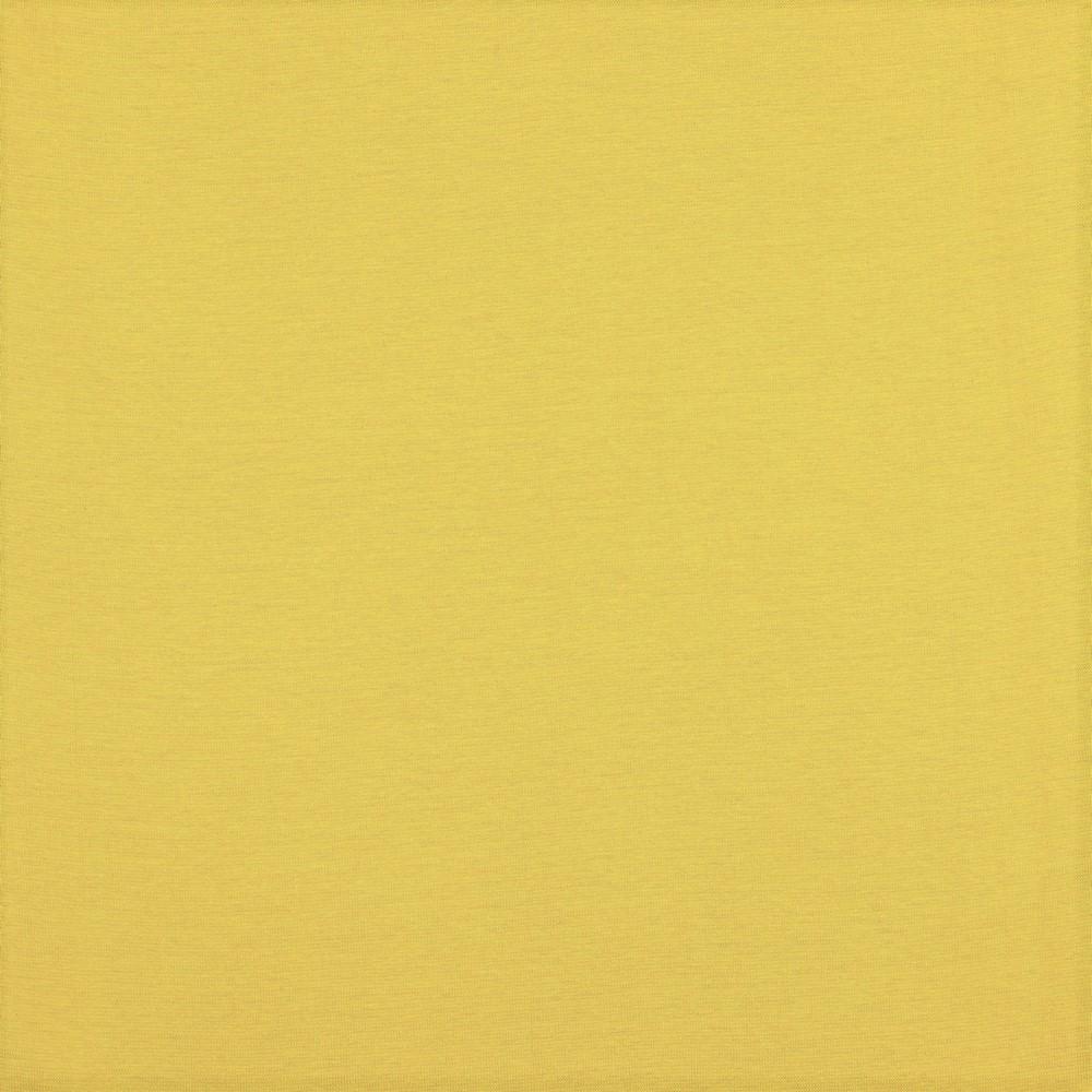 Organic Cotton Bündchenstoff uni ocker (029)