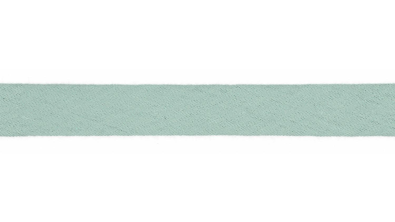 Schrägband Musselin uni mint (021)