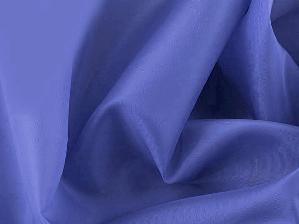Futterstoff uni blau
