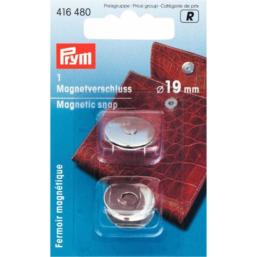 Prym Magnetverschluss 19mm silber