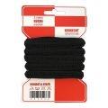 Rote Karte 5m Gummi 8mm in schwarz extra weich