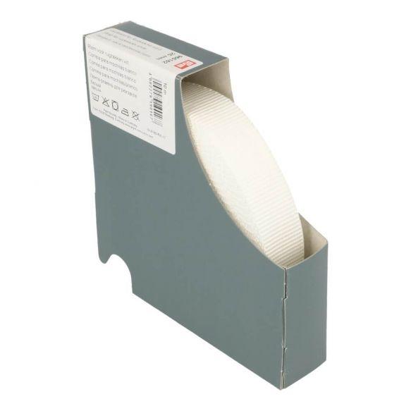 Prym Gurtband für Rucksäcke 25mm uni weiß