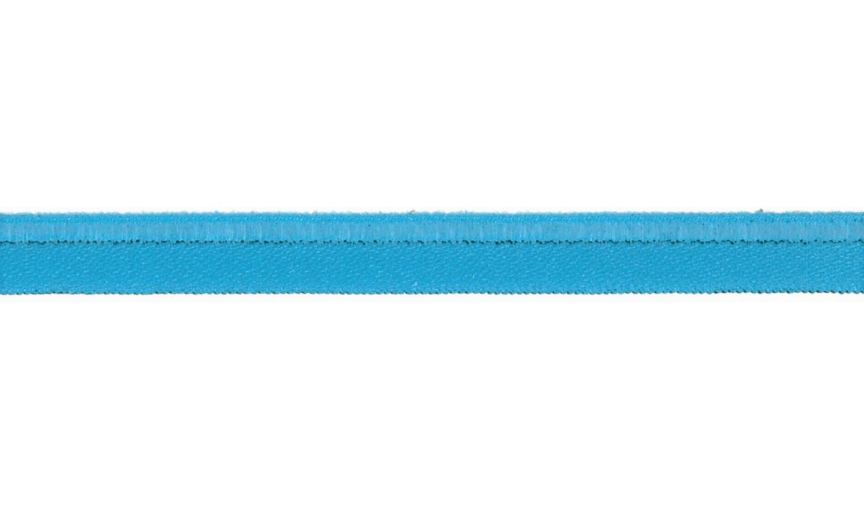 Paspelband elastisch uni türkis 10mm