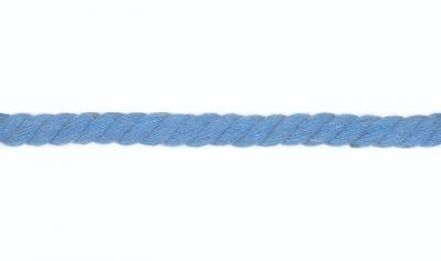 Kordel Baumwolle rund 10mm uni jeansblau