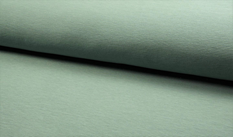 Ottoman Rib Jersey uni dusty mint