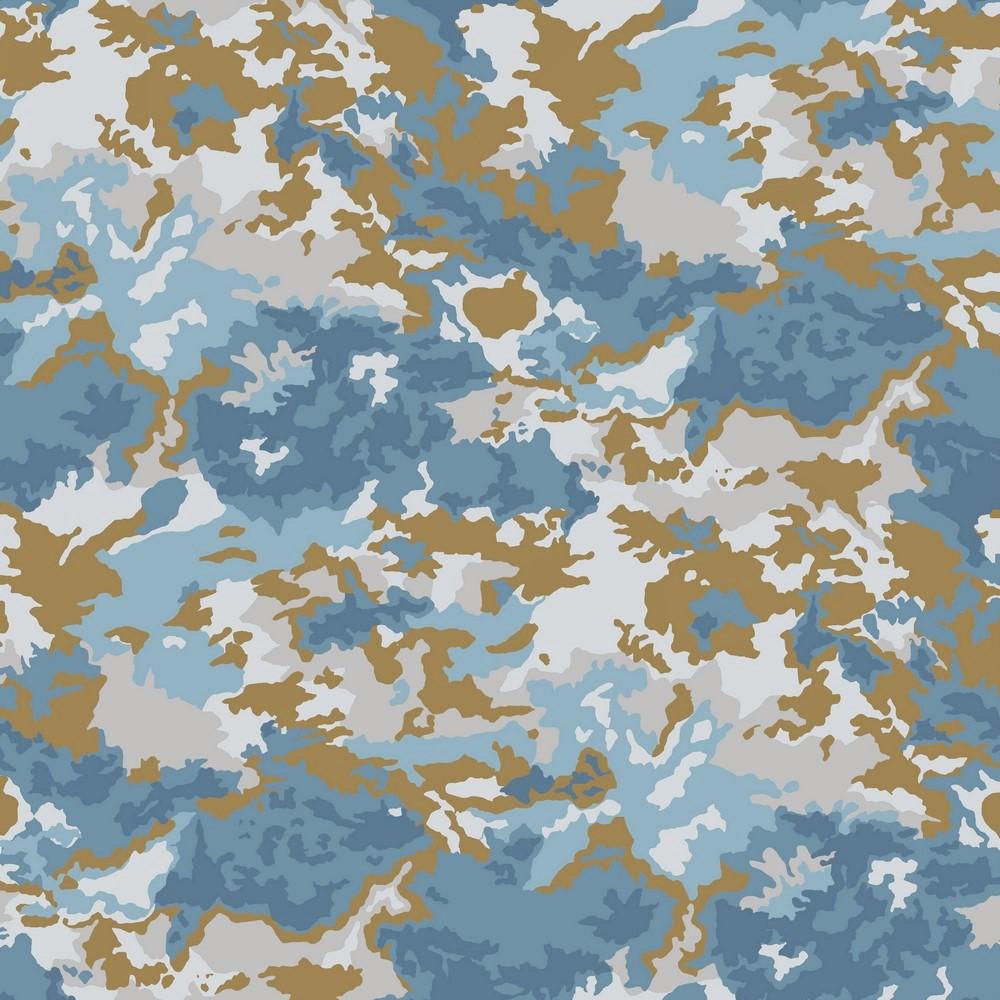 "Canvas Digital ""Camouflage"" - beige/blau"