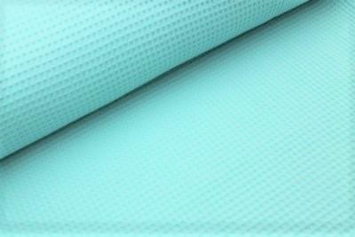 Waffelstoff uni mint