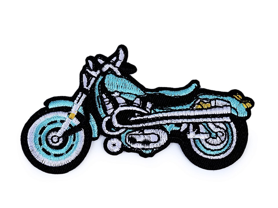 Applikation Motorrad aqua