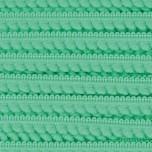 Pomponborte Mikro uni grün 10 mm