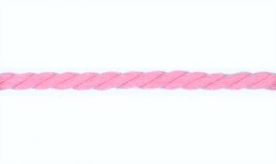 Kordel Baumwolle rund 10mm uni rosa
