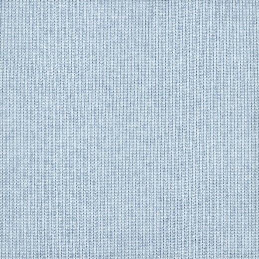 Viskosestrick mit silber Lurexfäden - hellblau