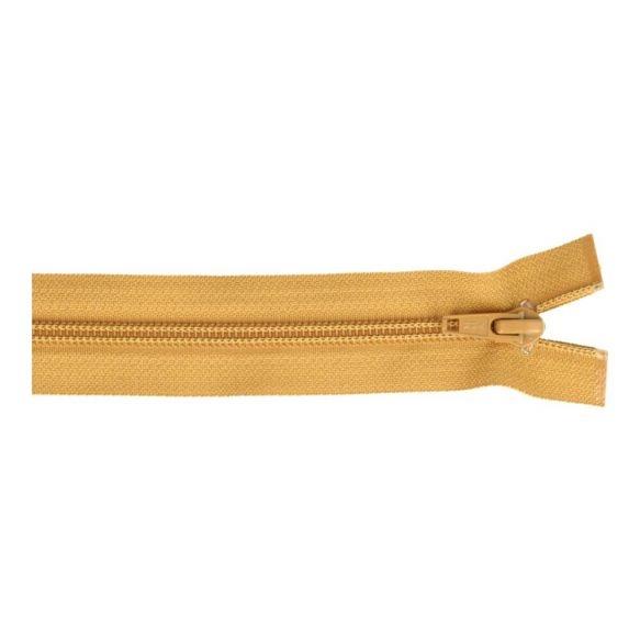 Reissverschluss teilbar Nylon ocker 30cm