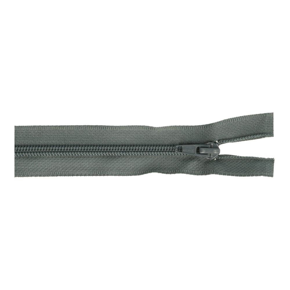 Reissverschluss teilbar Nylon dunkelgrau 60cm (579)