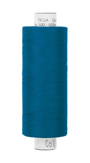 Amann Troja 100  Garn 500m - jeansblau (1276)